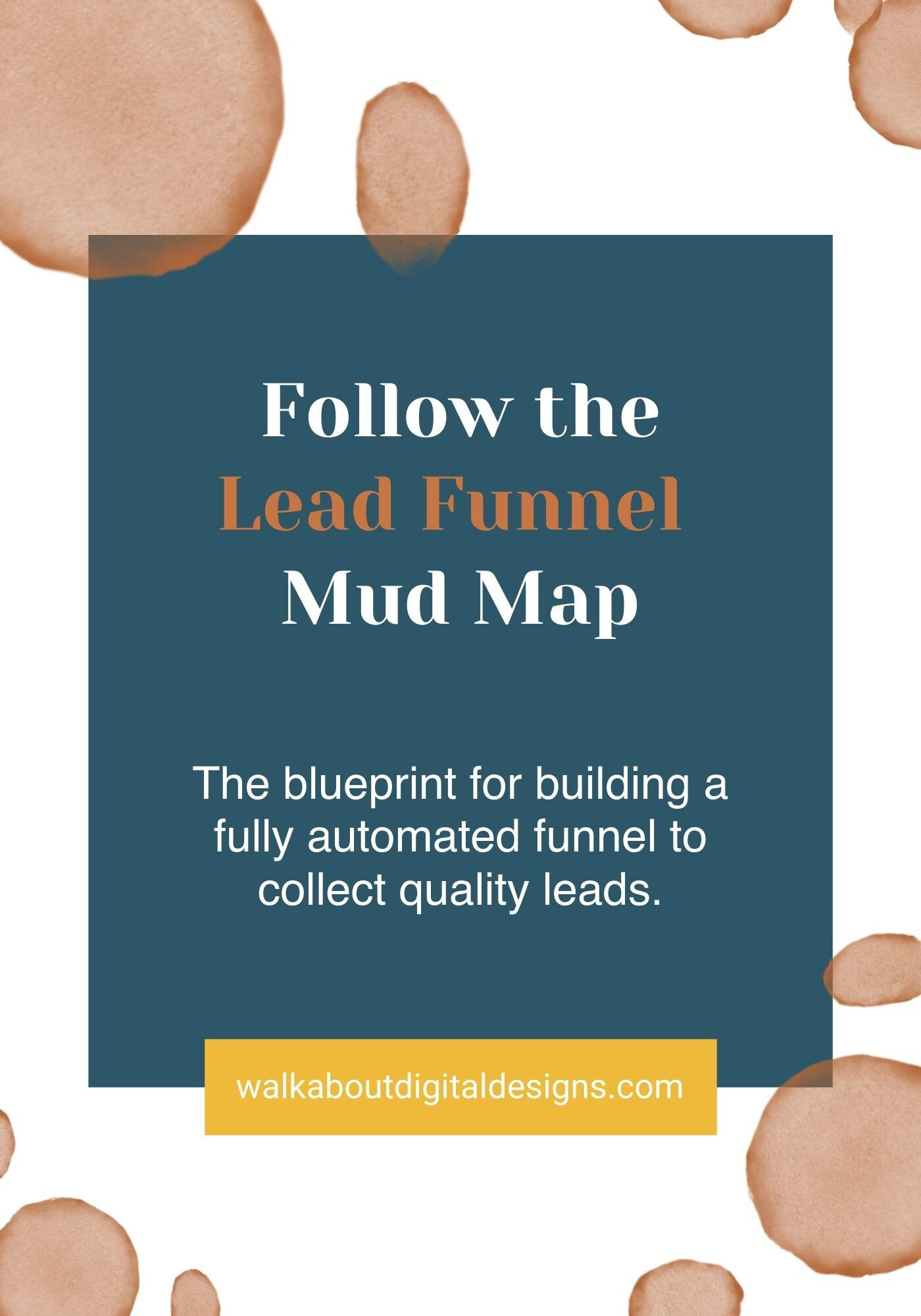 Copy of Follow the mud map (Aussie for simple map)) to create a fully automated lead machine that draws ideal, qualified and prepared customers into your adventure.